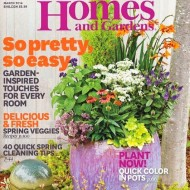 FREE Better Homes and Gardens Magazine For A Year!