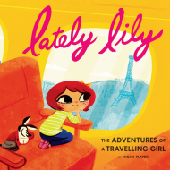 Lately Lily Picture Book, Flash Cards and Travel Activity Kit from Chronicle Books (Review)