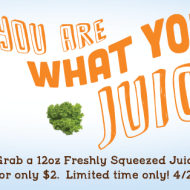 Refreshing Treats from Jamba Juice, Starbucks and Sonic Drive-In = Half Priced Drinks and More!