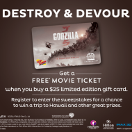 Red Robin: FREE Movie Ticket (Valued Up To $12) When You Buy A $25 Limited Edition Gift Card