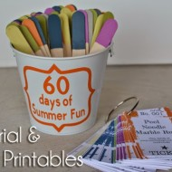 FREE Tutorial and Printables: 60 Days of Summer Fun