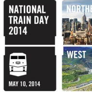 National Train Day: Fun, FREE Family Event on May 10th