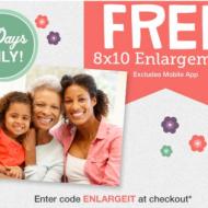 Walgreens Photo: Score a FREE 8X10 Photo Print with In-Store Pickup (Thru 5/10)