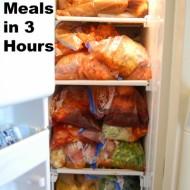 30 Summer Freezer Meals in 3 Hours