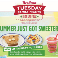 Restaurant Deals: Bob Evans, Jack In The Box, Outback Steakhouse, Papa John's and Sonic Drive-In