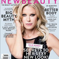 """Modern Mom"" Julie Bowen Graces Cover of NewBeauty Magazine (Summer/Fall 2014 Issue)"