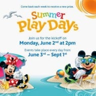 Disney Store Summer Play Days – FREE Lanyard and Character Buttons! (Starting June 2nd)