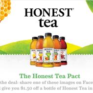 Score Two FREE Bottles of Honest Tea (Facebook Offer)