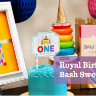 Fisher-Price Royal Birthday Bash Sweepstakes, Fisher-Price Toy Coupons + Fun 1st Birthday Party Ideas