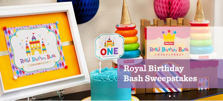 If Your Babys First Birthday Is In August December 2014 You Can Enter The Fisher Price My Club Royal Bash Sweepstakes Now