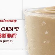 Arby's: FREE Jamocha Shake on July 23rd