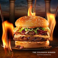 """Red Robin: New """"Hercules"""" Movie-Inspired Burger + Movie Ticket Discount Offer"""