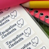 $30 Worth of Customized, Waterproof Labels for Camp and Back to School, Only $12.75!