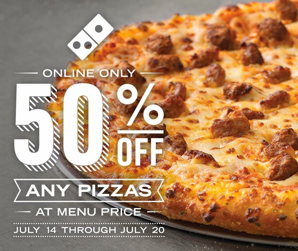 Restaurant deals carl 39 s jr and hardees domino 39 s pizza for Domino pizza