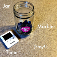 Using the Marble System to Manage Your Kids' Screen Time