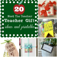 """Meet The Teacher"" Gift ideas + Craft Store Coupons"
