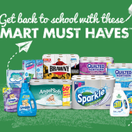 Smart Must Haves Back To School Offer: Get Back $10 Prepaid MasterCard® Card when you Purchase $25 Worth of Georgia-Pacific, Dixie®, and/or Sun Products
