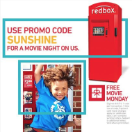Redbox: FREE Blu-Ray or DVD Rental (Today Only)