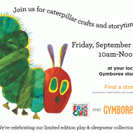 Gymboree Stores: FREE Eric Carle Caterpillar Crafts and Storytime on September 5th + More!
