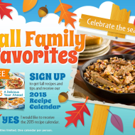 Request a Free 2015 Perdue Recipe Calendar