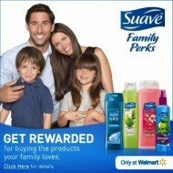 Suave Family Perks: Get Rewarded for Buying Suave Products at Walmart + Enter to Win a $50 Walmart Gift Card!