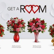 "Teleflora's ""Get A Room"" Sweepstakes: Putting The ""Man"" in Romance This Valentine's Day"