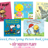 5 New Picture Books for Spring from Candlewick Press and a #Giveaway