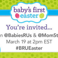 "BabiesRUs ""Baby's First Easter"" Event on 3/28"
