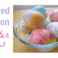 Easter Craft Idea: Melted Crayon Easter Eggs