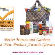2015 Better Homes and Gardens Best New Product Awards Giveaway!