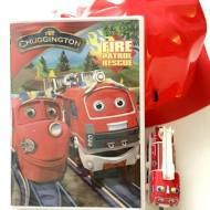 "Guest Post: Chuggington ""Fire Patrol Rescue"" DVD + Train {Review}"