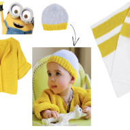 "New Pantone Color ""Minion Yellow"" + Wool and the Gang's Baby Collection #MadeUnique"