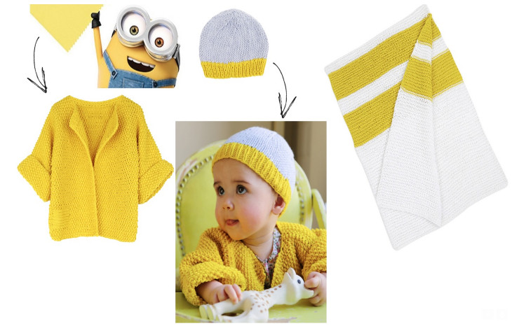 """New Pantone Color """"Minion Yellow"""" + Wool and the Gang's Baby Collection #MadeUnique"""