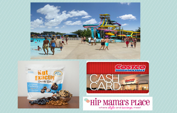 What To Pack For A Day at the Water Park + #FisherNutExactly Snack Bites Review and a $50 Costco Gift Card Giveaway!