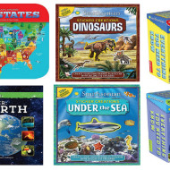 Smithsonian Interactive Books and Activity Kits for Kids – Review + Giveaway!