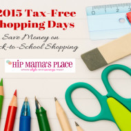 Tax-Free Shopping Weekend 2015 + Entertainment and Dining Deals