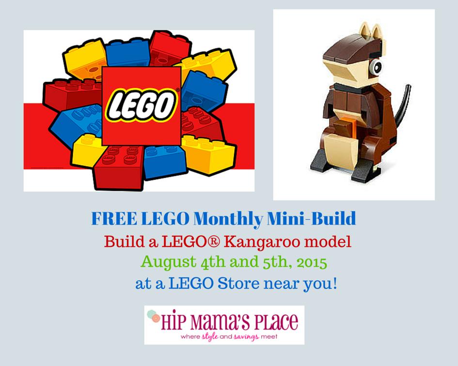 FREE LEGO Monthly Mini-Build(3)