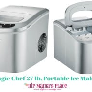 Magic Chef 27 lb. Portable Countertop Ice Maker Review + Giveaway!