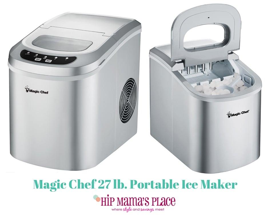 Magic Chef 27 lb. Portable Countertop Ice Maker