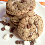 Hot Chocolate-Marshmallow Chocolate Chip Cookies Recipe + American Heritage Chocolate Products Giveaway!