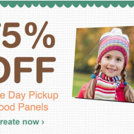 Walgreens: 5×7 Wooden Photo Panels Only $3.75 w/ Free Store Pickup + More!