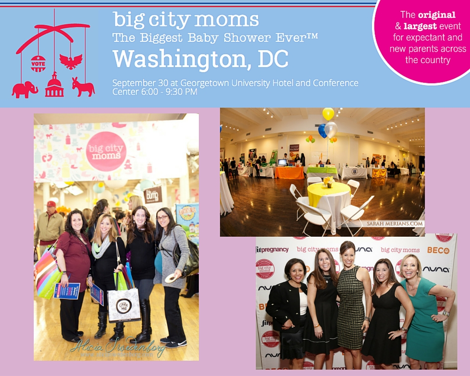 Big City Moms Biggest Baby Shower Ever Is Coming To Washington Dc