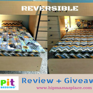 Zipit Bedding Review + Giveaway!