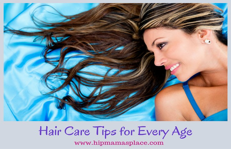Hair Care Tips For Every Age +  Women's ROGAINE® Foam Giveaway!