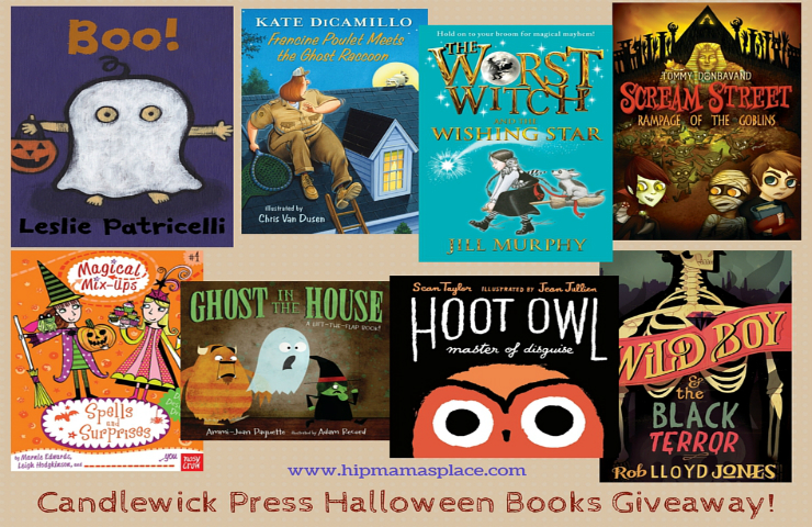 Boo! Halloween Children's Books from Candlewick Press + Giveaway!
