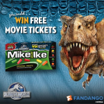 Cozy Up for a Movie Night at Home with MIKE AND IKE Candy and Jurassic World DVD