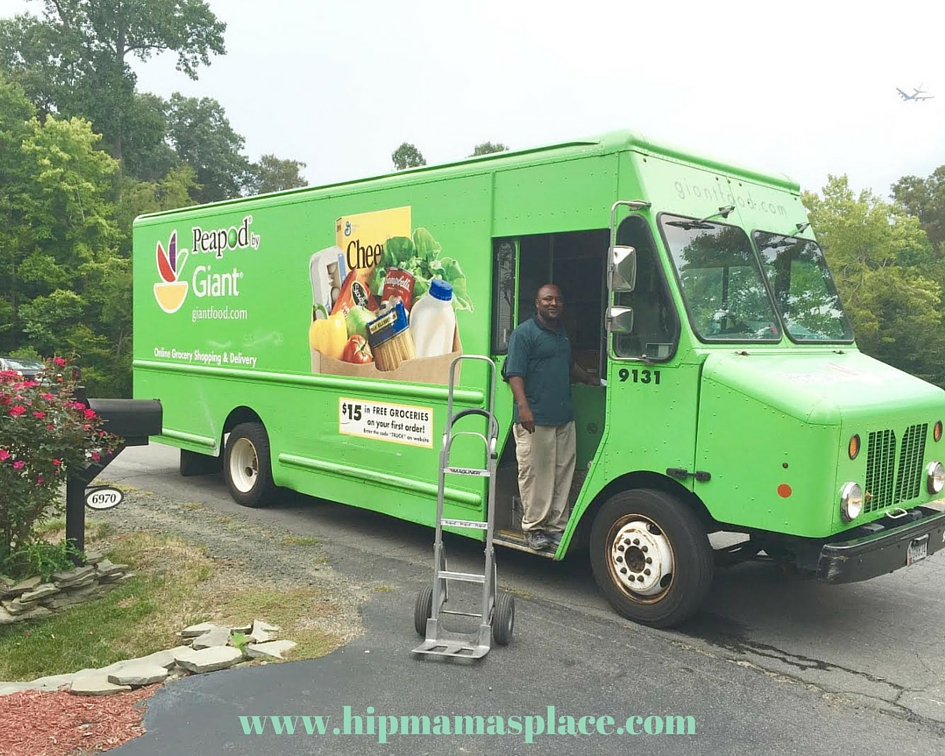 Peapod Grocery Delivery Service- Hip Mama's Place