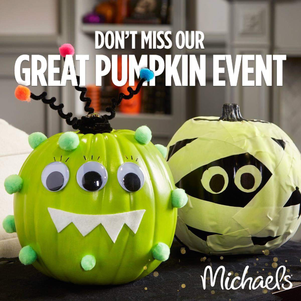 michaels-pumpkin-event