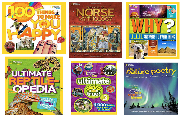 Capture Your Kid's Imagination with National Geographic Children's Books + Giveaway!