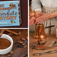GREAT MOMENTS IN CHOCOLATE HISTORY Cookbook +  American Heritage Chocolate Prize Pack Giveaway!